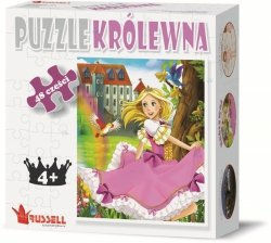Puzzle Edukacyjne 48 el. Królewna