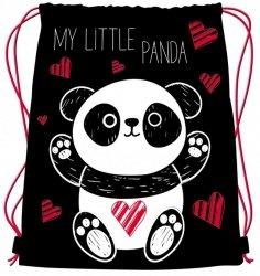 Worek szkolny Panda Bambino