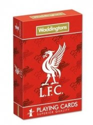 Talia Karty do Gry Liverpool Football Club Waddingtons