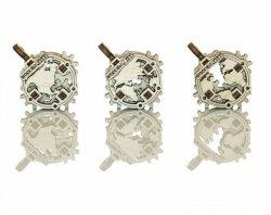 Drewniane puzzle mechaniczne 3D - Gadżety Globe #T1