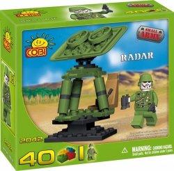 Klocki Cobi Radar Wojskowy Mała Armia 40 el.