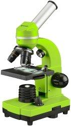 MikroskopBresser Junior Biolux SEL 40–1600x, zielony