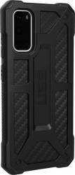 UAG Monarch - obudowa ochronna do Samsung Galaxy S20 (carbon fiber)
