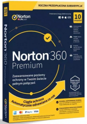 SYMANTEC 21395046 NORTON 360 PREMIUM 75GB PL 1 USER 10 DEVICE 12MO STD RET ENR MM