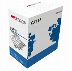 Kabel sieciowy UTP CAT5E 305 m (lita miedź, 0,45 mm, CMX) CAT 5E