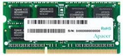 Pamięć APACER SODIMM DDR3 4GB 1600MHz 11CL 1.5V SINGLE