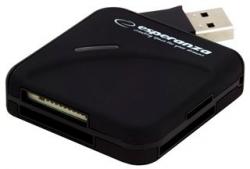 Czytnik kart pamięci ESPERANZA USB 2.0 EA130