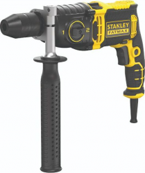 Wiertarka Stanley udarowa 1100W 2-biegi, kufer (FMEH1100K-QS)