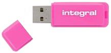Pendrive (Pamięć USB) INTEGRAL 8 GB USB 2.0 Różowy