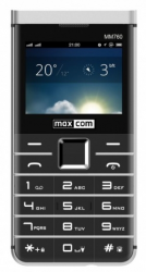 Telefon MAXCOM MM 760 Dual SIM Czarny