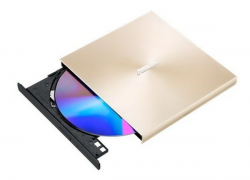 Napęd optyczny DVD Zewnętrzny USB 2.0 Złoty
