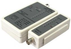 Tester kabli RJ45 i BNC z jednostką zdalną