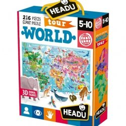 Montessori Podróż Dookoła Świata Angielski 5 do 10 lat Headu
