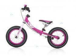 Rowerek biegowy Young Róż #B1