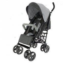 Wózek Dziecięcy Smart Parasolka Szary Czarny #D1