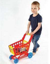 Plastikowy Wózek Sklepowy na Zakupy Akcesoria 20 el.