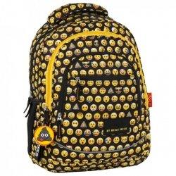 Plecak Szkolny 3 Komory Back Up X Emoji 86 Buźki Brelok