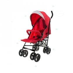 Wózek Dziecięcy Smart Parasolka Czerwony #D1 Czerwony
