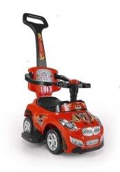 Jeździk Pojazd Happy 3 w 1 Czerwony #B1
