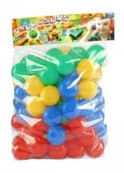 Kolorowe Piłeczki do Basenu Placu Zabaw Kulki Piłki 80szt