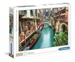 Puzzle Kanał Wenecki Wenecja 1000 elementów Clementoni
