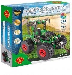 Mały Konstruktor Traktor Fred produkt polski Alexander