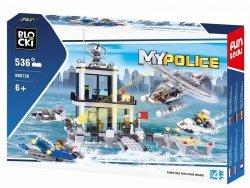 Klocki Blocki Mypolice Policja Oddział Wodny 536 el.