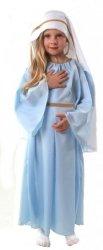 STRÓJ MARYJA 130 140 KOSTIUM PRZEBRANIE JASEŁKA