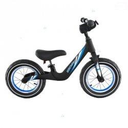 Rowerek biegowy T207 Czarny Pompowane Koła #D1