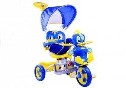 Rowerek trójkołowy Kaczka Dźwięki Niebieski #C1