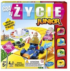 Gra w Życie Junior Planszowa Hasbro Wersja Pl