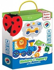 Gra Magnetyczna Kolory i Figury od 3 lat - Roter Kafer