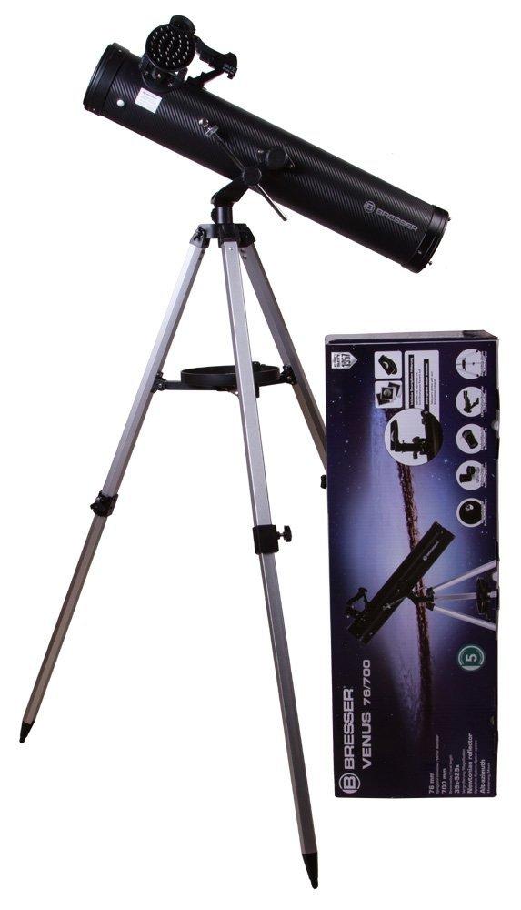Teleskop Bresser Venus 76/700 z adapterem do smartfona