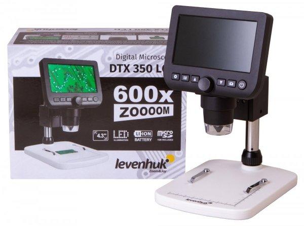 Mikroskop cyfrowy Levenhuk DTX 350 LCD