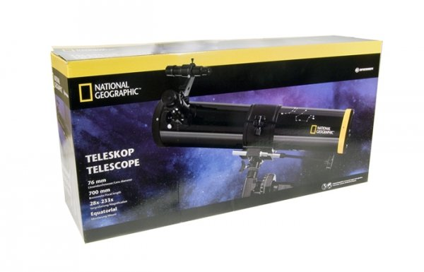 Teleskop Bresser National Geographic 76/700 EQ