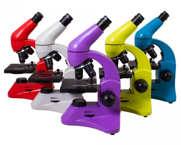 Mikroskop Levenhuk Rainbow 50L PLUS AzureLazur