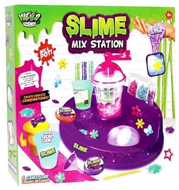 Slime Fabryka Szlamu Zestaw Plastyczny Brokat