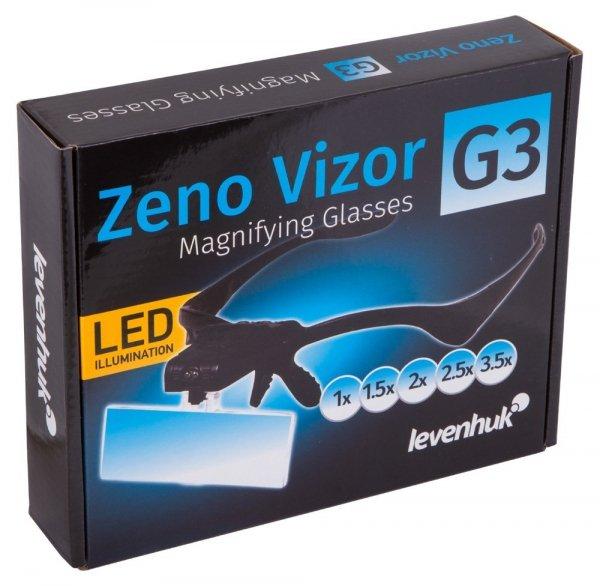 Okulary powiększające Levenhuk Zeno Vizor G3