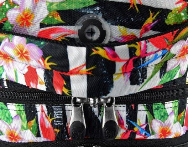 Plecak Młodzieżowy 2018 Tropical Stripes Bp-01 Gratis
