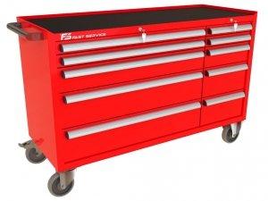 Wózek narzędziowy MEGA z 10 szufladami PM-222-22