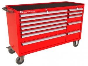 Wózek narzędziowy MEGA z 12 szufladami PM-219-22