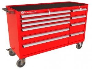 Wózek narzędziowy MEGA z 10 szufladami PM-220-23