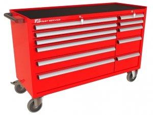 Wózek narzędziowy MEGA z 11 szufladami PM-220-22