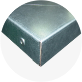 Blat warsztatowy blacha ocynk 2070x600x40 mm