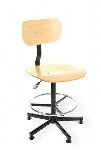 Krzesło spawalnicze Black 02 H RING RKW-14