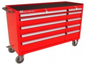 Wózek narzędziowy MEGA z 10 szufladami PM-221-21