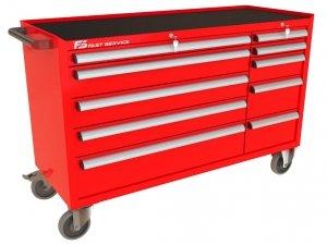Wózek narzędziowy MEGA z 10 szufladami PM-221-22