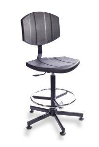 Krzesło warsztatowe Pur Active H+ RING RKW-21