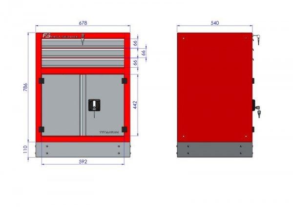 Stół warsztatowy – T-30-40-30-01