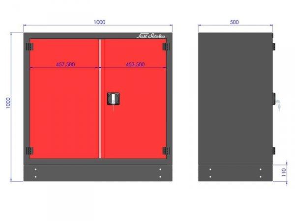 M-3-01-02  Modułowa szafa warsztatowa